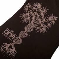 Dna - T-Shirt Donna Double Helix Tree Nero/Grigio M