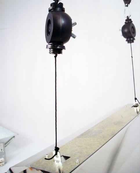 Riflettore long gloss 50v a specchio per coltivazione - Specchio con lampade intorno ...
