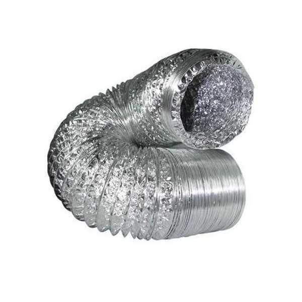 Tubo flessibile alluminio diam 10cm 3mt