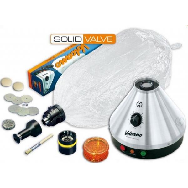 Volcano Classic - Vaporizzatore con Solid Valve Set