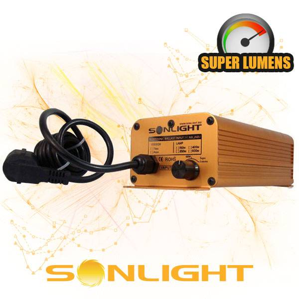 Alimentatore Elettronico Sonlight Dimmerabile 150 / 250 / 400W
