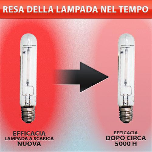 Resa Luminosa delle Lampade HPS/MH e dei Riflettori