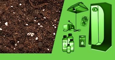 I Nostri Kit Completi di Grow Box per la Coltivazione in Terra