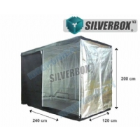 SilverBox V3 in Mylar 240x120x200cm - Grow Box Per Coltivazione Indoor - 2,9 mq