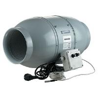 Aspiratore Insonorizzato Blauberg Iso-Mix - 25cm (1315 m3/h) - Con Termostato