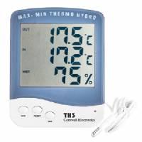 Termometro/igrometro digitale Display LCD