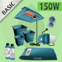 Kit Coltivazione Indoor Terra 150w - BASIC