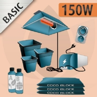 Kit Coltivazione Indoor Cocco 150w - BASIC