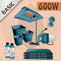 Kit Coltivazione Indoor Cocco 600w - BASIC
