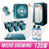 Micro Growing Kit LED G3+ 135W