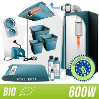 Kit Indoor BIO con Grow Box - HPS Agro 600W