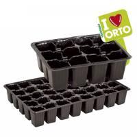 Semenzaio - Vassoio in plastica Verdemax