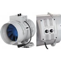 Estrattore BLAUBERG BI-Turbo 12,5cm + cavo - 280m3/h con Termostato