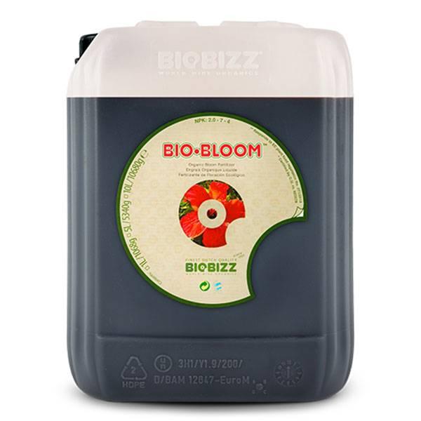 Biobizz bio bloom 5l fertilizzanti per coltivazione indoor for Un fertilizzante