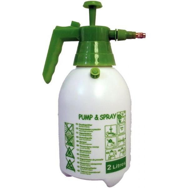 Pompa irroratrice a pressione spray 2l verderame e for Spruzzini irrigazione