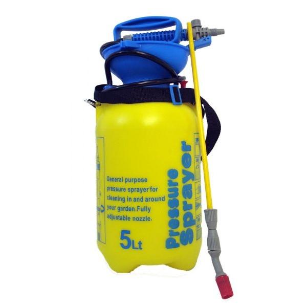 Pompa a spalla 5l per irrigazione con accumulo di pressione - Pompa per irrigazione giardino ...