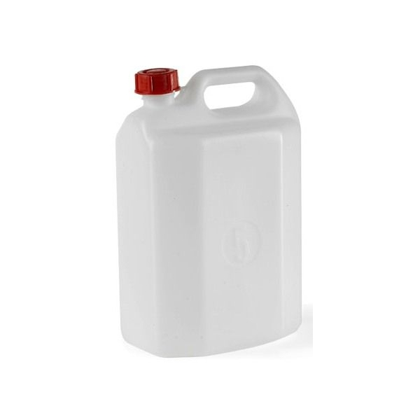 Tanica acqua plastica
