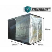 SilverBox V3 in Mylar 240x120x200cm - Grow Box Per Coltivazione Indoor - 2,9 mq