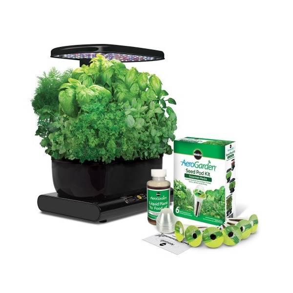 smart garden il mini orto targato aerogarden led. Black Bedroom Furniture Sets. Home Design Ideas