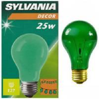 Bulbo verde Sylvania  - 25W