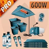Kit Coltivazione Indoor Cocco 600w - PRO