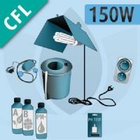 Kit Idroponica Indoor 150W Basic - CFL