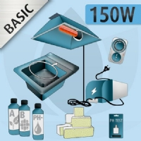 Kit Idroponica Indoor 150W - BASIC