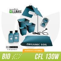 Kit Coltivazione Indoor Biologico Terra 150w - CFL
