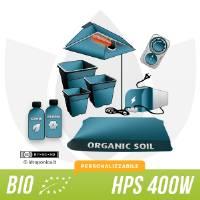 Kit Coltivazione Indoor Terra 400w - Biologico