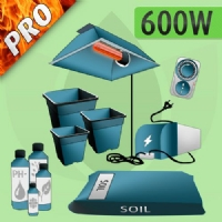 Kit Coltivazione Indoor Terra 600w - PRO