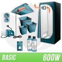 Kit Indoor Terra 600w + Grow Box - BASIC