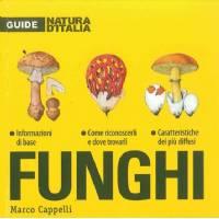 Funghi - di Marco Cappelli, Giunti Editore