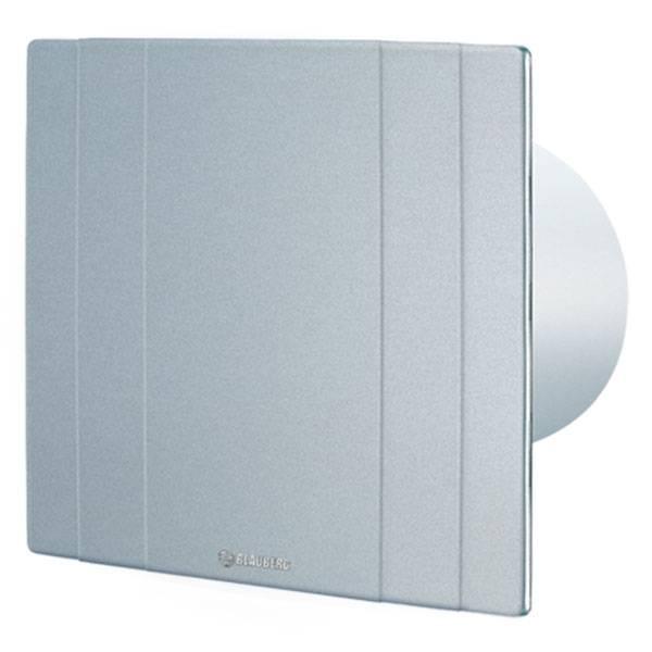 Ventola per bagno silenziosa blauberg quatro platinum 100 for Ventola bagno