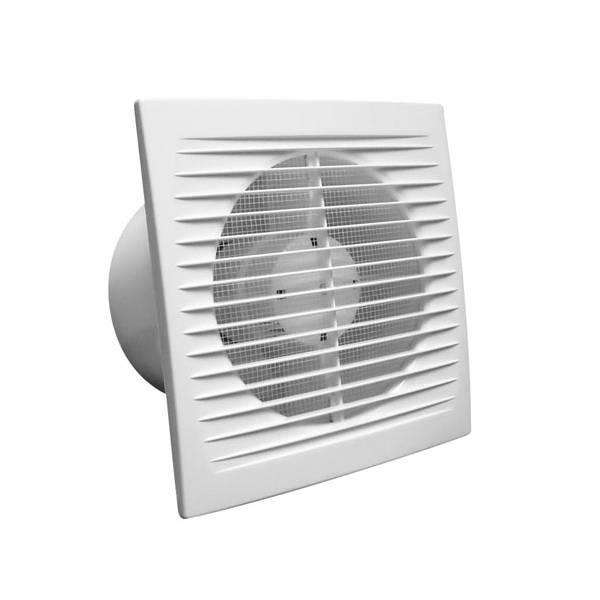 Aspiratore bagno cieco winflex 150 s 105m3 h con griglia - Aspiratore bagno umidita ...