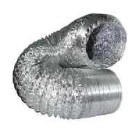 Condotta areazione flessibile alluminio Ø 15cm - 5mt