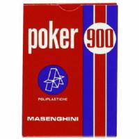 Carte Poker 900 Rosso - Dal Negro