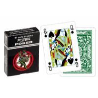Carte Poker Floreale Verde Long Life NTP in PVC - Dal Negro