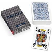 Carte Poker Torcello A1 Blu All Plastic - Dal Negro
