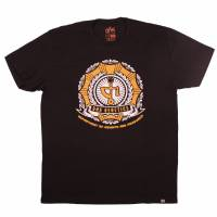 Dna - T-Shirt Dept Weights & Measures Nero/Giallo M