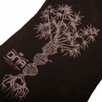 Dna - T-Shirt Donna Double Helix Tree Nero/Grigio M