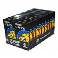 The Bulldog - Filtri in cotone 5,3mm (Pacco Singolo)