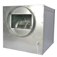 Aspiratore Cassonato in Acciaio SUPERSILENZIATO 55x55cm 2x250/315mm - 2500m3/h