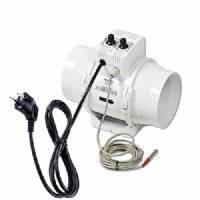 Estrattore VENTS Elicoidale BI-TURBO 16cm + Cavo - 520m3/ora + termostato
