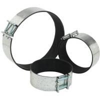Fascetta stringi-tubo con gommapiuma interna mm 150