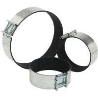 Fascetta stringi-tubo con gommapiuma interna mm 200