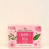 BioSapone Canapa e Rosa - Verdesativa
