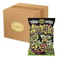 BOX 30pz - Hemp Chips Amnesia 35g - Patatine di Canapa