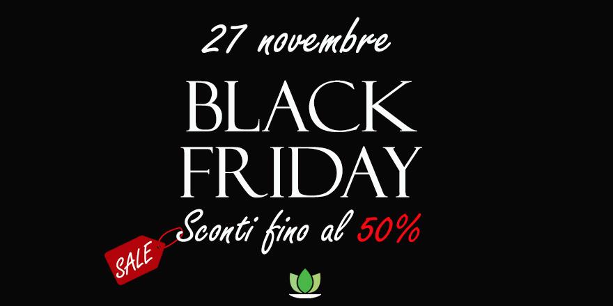 Black Friday targato Idroponica, sconti fino al 50%