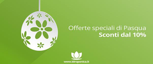 Idroponica, per Pasqua offerte speciali