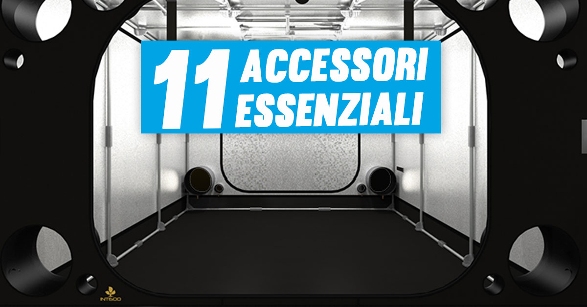 Accessori Grower Indoor: 11 strumenti indispensabili